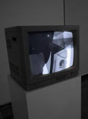 Se mirer le surmoi dans les écrans de Peter Campus au Jeu de Paume