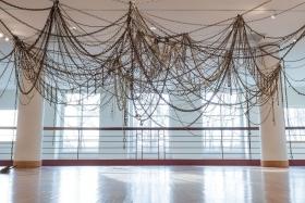 "Jean Shin's ""Links"" at Bethel University gallery"