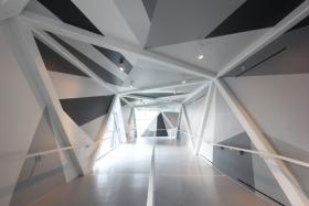 SFC Bridge integrates public art for dynamic pedestrian infrastructure