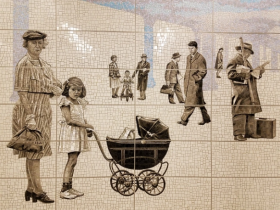 Subway Station Art: Lexington Avenue-63rd Street Station