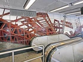Second Avenue Subway Has Dynamic Public Art From Chuck Close, Vik Muniz, Jean Shin & Sarah Sze
