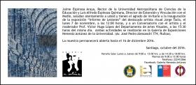 Exhibition | Jorge Tacla: Informe de Lesiones