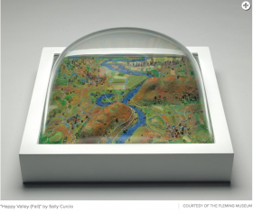 Art Review: 'Small Worlds: Miniatures in Contemporary Art,' Fleming Museum