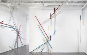 Using Construction Materials, Sculptor Richard Galpin Explores Urban Development