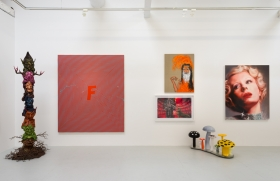 No wallflowers here: Sparks fly when art  mingles on the walls of 'Flaming June VII'