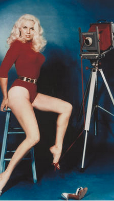 Bunny Yeager, a glamour girl and glamour photographer in one