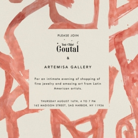 Artemisa Gallery Summer Pop Up in The Hamptons