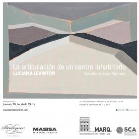 Luciana Levinton at the Museo de Arqitectura y Diseño in Buenos Aires