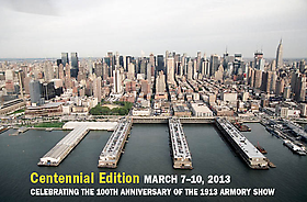 Armory Show 2013: Pier 94-Booth 614