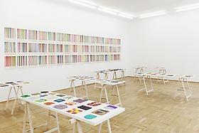 Polly Apfelbaum: Planiverse, at Galerie nächst St. Stephan, Vienna