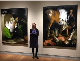 Elise Ansel in the Portland Biennial, Portland, ME