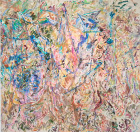 Ecstatically Chromatic: Larry Poons & Syd Solomon | Hamptons Art Hub