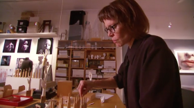 Elizabeth King: In her Studio