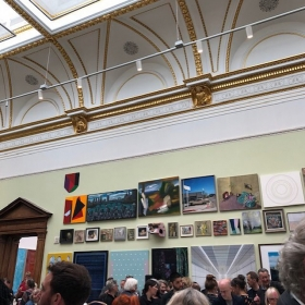 Elise Ansel in the Royal Academy of Arts Summer Exhibition 2019