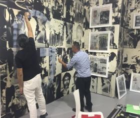Tomas Vu and Rirkrit Tiravanija Miami Installation
