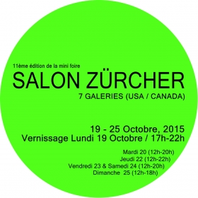 Freight+Volume at Salon Zürcher Paris Oct. 19-25 2015