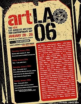 Freight + Volume is pleased to announce its participation in ArtLA, Los Angeles Art Fair for Contemporary Art