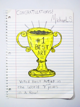 "Michael Scoggins featured in Hyperallergic in ""Art on Paper Joins the Armory Week Fold"""
