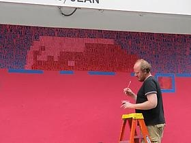 Bowery Boogie coverage on Erik den Breejen's mural
