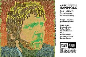 Freight+Volume @ artMRKT Hamptons 2013