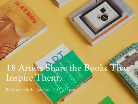 18 Artists Share the Books That Inspire Them, Featuring Sam Jablon