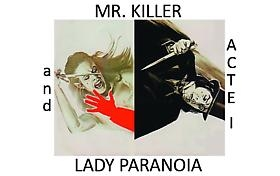 "Russell Tyler participates in ""Mr. Killer and Lady Paranoia, Act I"" at Polad-Hardouin, Paris, June 30 - July 30, 2011"