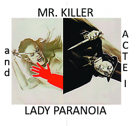 """Russell Tyler in """"Mr. Killer and Lady Paranoia"""" at Polad-Hardouin reviewed in Le Monde"""
