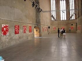 "Oliver Dorfer Solo-Exhibition ""The Red Chamber"" at St.Peter an der Sperr/ Museum of the City of Wiener Neustadt"