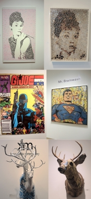 Michael Scoggins' G.I. Joe mentioned on artnet