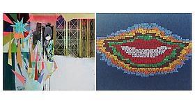 Erik den Breejen & Kristen Schiele on ARTINFO's Greatest Hits in Miami