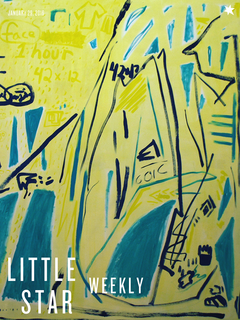 Margaux Ogden on cover of Little Star Weekly