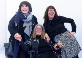 """Betty Tompkins' Pussy and Dick: Musings on """"Virgin"""" at PPOW  by Rebecca Goyette"""