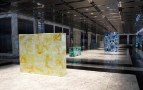 "David Baskin Commission ""Construct"" on View and Open to the Public at One Liberty Plaza"