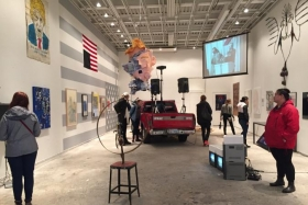"Samuel Jablon and Rebecca Goyette featured in ""Make America Great Again"" NYC art exhibit"