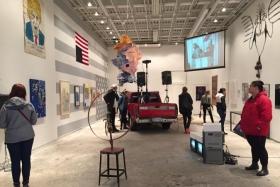 "Samuel Jablon and Rebecca Goyette featured in ""Make America Great Again"" NYC art exhibit"