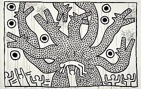 Keith Haring: 1978-1982 At the Brooklyn Museum. March 16–July 8, 2012