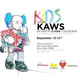 La Nave de ses Salines invita a los niños a crear rodeados por las obras de Kaws