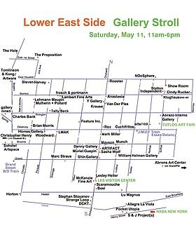 Join us for LES Gallery Walk May 11th