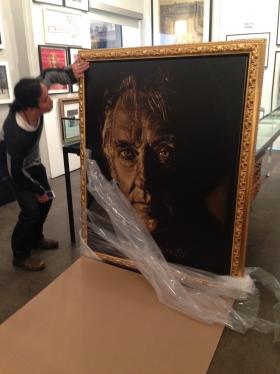 Famous 80s Poster Artist Dennis Mukai Scratches Into Darkness