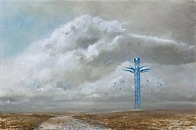 GR Martin's work exhibited at Hanson Gallery