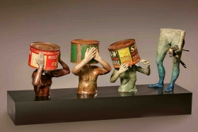 Hanson Gallery Fine Art presents the sculpture of Steven Michael Beck
