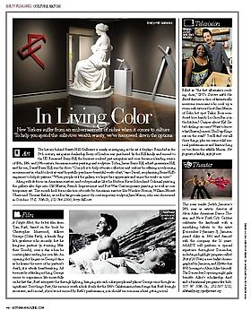Berry-Hill featured in Gotham Magazine's Culture Watch:  In Living Color: