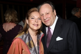 Nancy and James Berry-Hill attend the annual dinner at the Doubles Club in New York to support Lewis Frumkes, Founder and Director of the prestigious Writing Center at Hunter College.