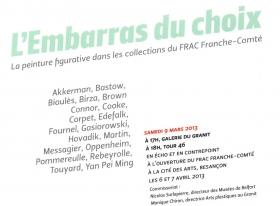 Michael Bastow at FRAC Franche-Comté
