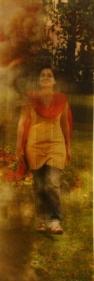 Farida Batool SOHNI DHARTI 2 2009 Lenticular print 59.5 x 20 in.