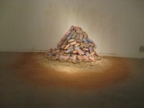Mona Kamal SILENT WALL Bricks Dimensions variable