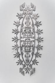 Adeela Suleman Untitled 2 (ed. 1 of 3) 2011 Stainless steel 91 x 39.5 in. Photo: Goswin Schwendinger