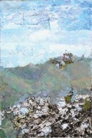 Ram Kumar UNTITLED LANDSCAPE 4 2008 Oil on canvas 36 x 24 in.
