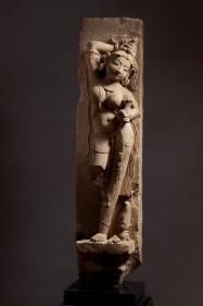 Surasundari Central India, Madhya Pradesh c. 10th Century Sandstone Height: 37 in.