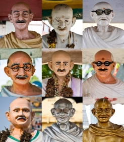 Vivek Vilasini VERNACULAR CHANTS II Comprised of nine photographs (one full edition) Each are in edition of 5 + 1AP 2007 Archival print on hahnemuhle photo rag fine art paper 37.5 x 33 in.